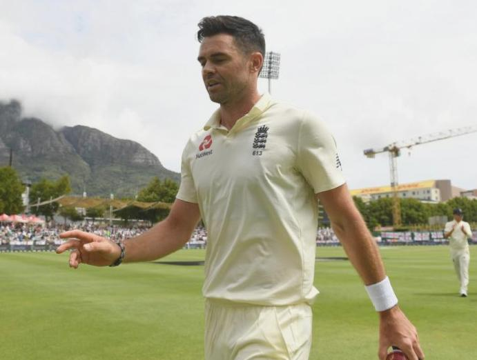 James Anderson completes heroic five-for England South Africa 98