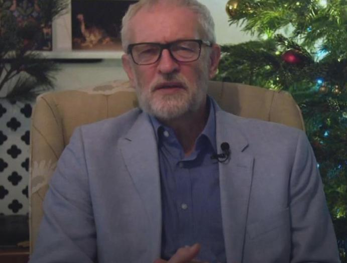 Jeremy Corbyn admits 'difficult year' Christmas