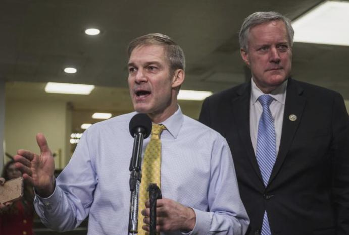 Jim Jordan: Key Trump was 'crying begging' wrestler cover-up, told