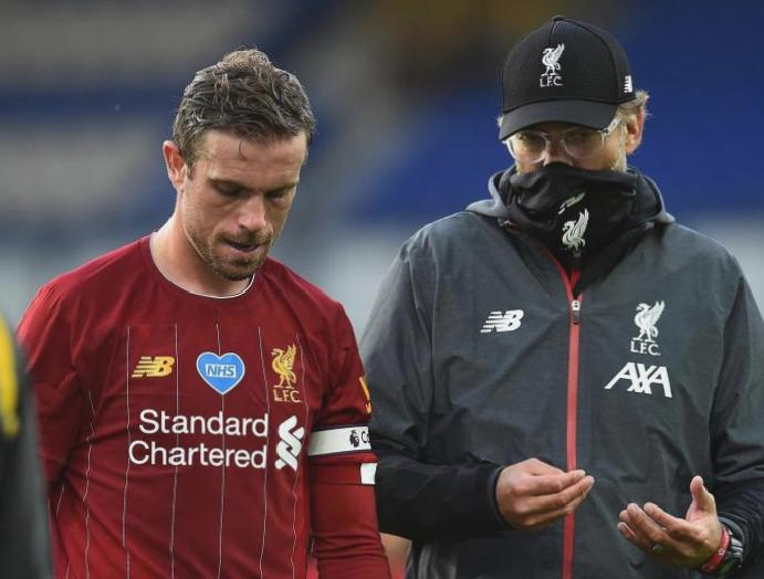 Jordan Henderson admits Liverpool lacked cutting Everton three-month