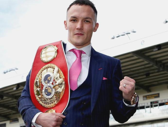 Josh Warrington wants inspirational Rob Burrow Headingley