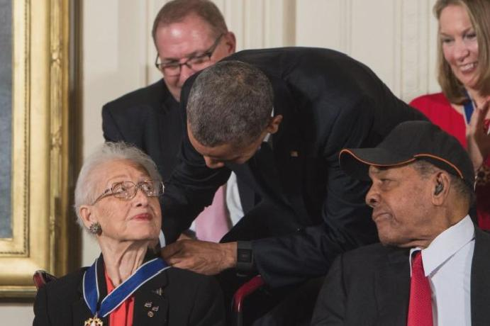 Katherine Johnson death: Nasa depicted 'Hidden Figures' dies aged 101