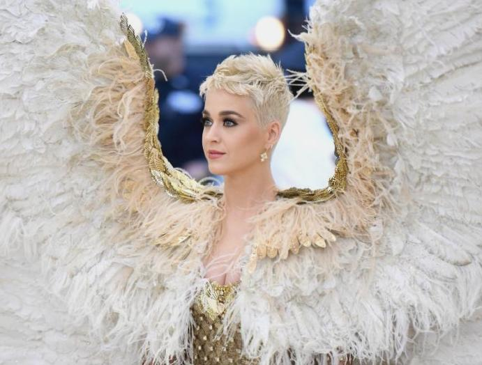 Katy Perry shares worn Met Gala 2020 'show off' bump