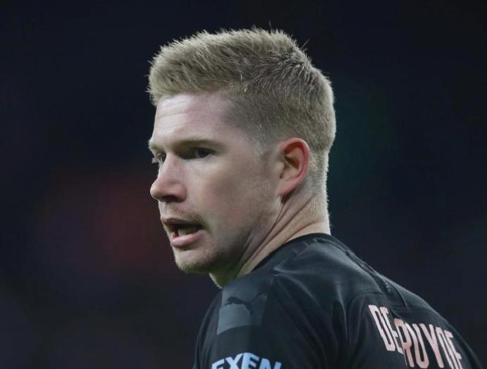 Kevin De Bruyne 'getting better' races Manchester derby