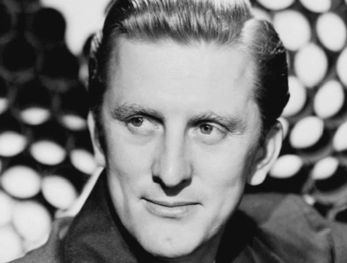 Kirk Douglas pushed an impoverished world's biggest stars