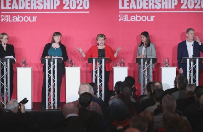 Labour candidates clash antisemitism Jess Phillips accuses rivals failing