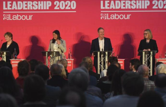 Labour contenders Lisa Nandy Rebecca Long-Bailey clash MP