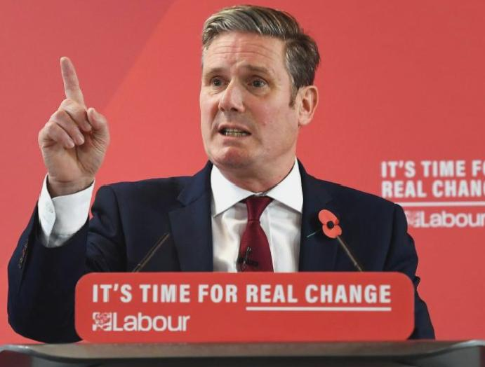 Labour leadership: Keir Starmer enters Corbyn pledge 'restore trust'