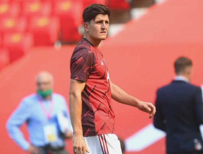 Leicester Manchester United: Harry Maguire issues