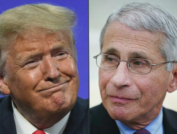 Lincoln Project defends Dr Fauci White House disavows attacks coronavirus