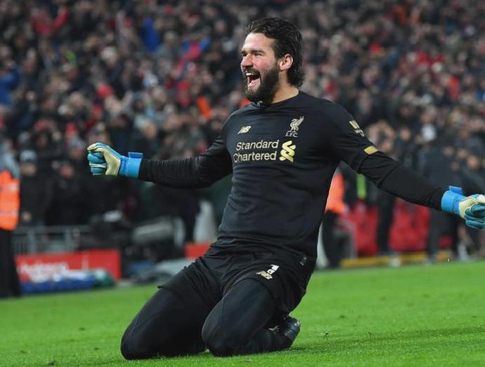 Liverpool Jurgen Klopp praises goalkeeper Alisson Becker making