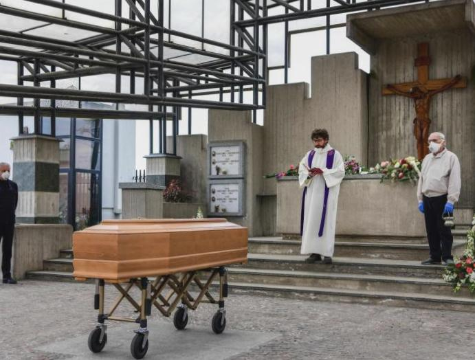 Livestreamed funerals crematoria 24 hours day: How coronavirus changed Italy's practices