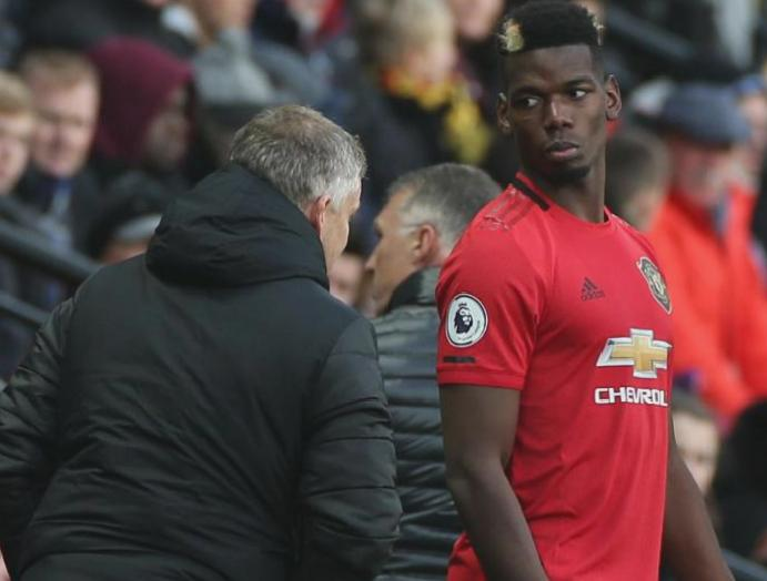 Manchester United Ole Gunnar Solskjaer responds Mino Raiola Paul Pogba comments