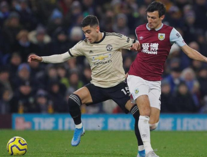 Manchester United determined 'difficult' Burnley says Andreas Pereira