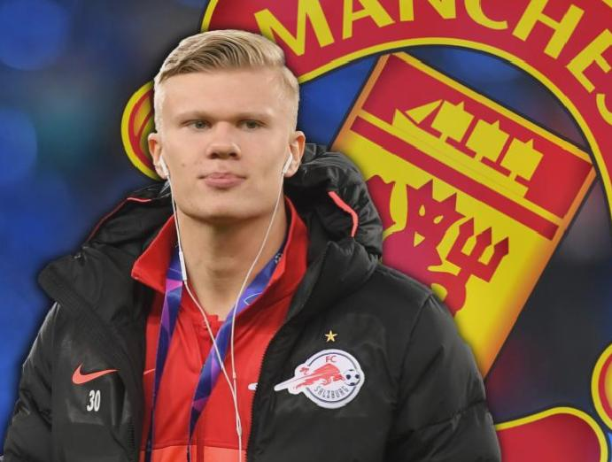 Manchester United race: Juventus Red Bull Salzburg Erling Braut Haaland