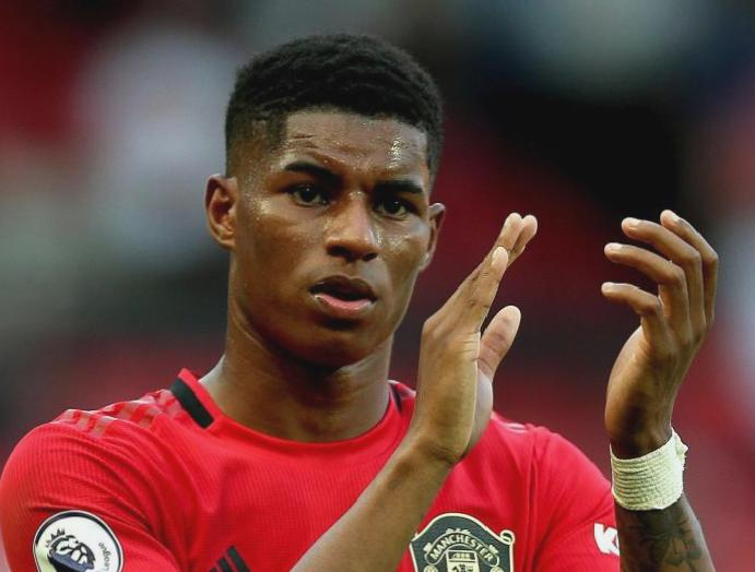 Manchester United's Marcus Rashford shares players academy ended