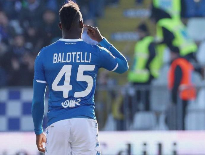 Mario Balotelli racially abused Lazio supporters Serie A overshadowed