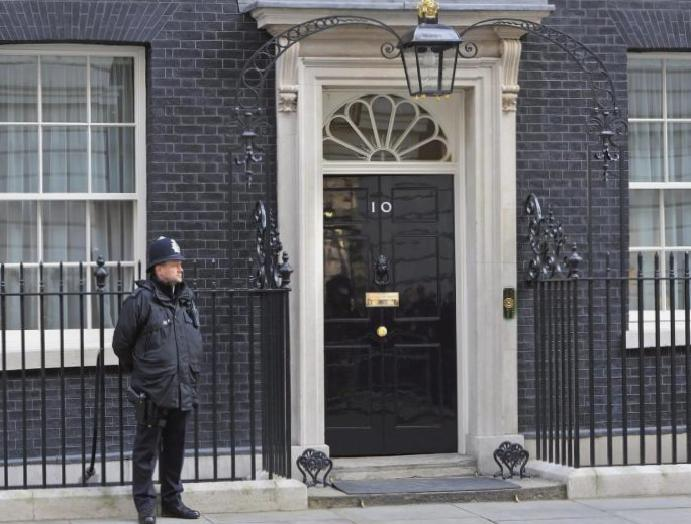 Maternity campaigners Downing Street