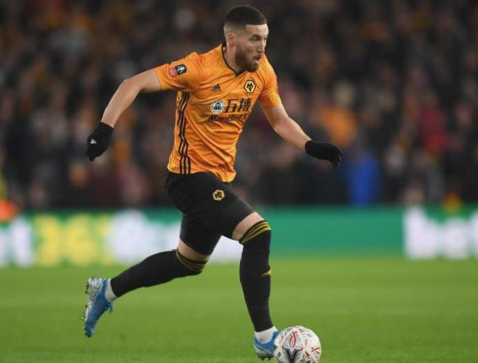 Matt Doherty Wolves Manchester United FA Cup replay