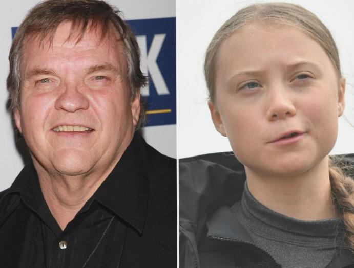 Meat Loaf says Greta Thunberg has been brainwashed is