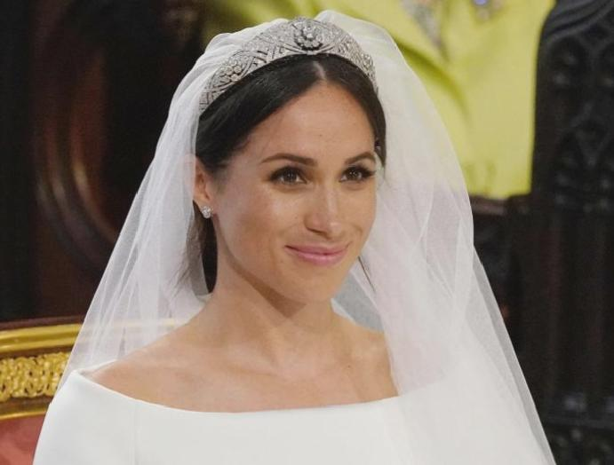 Meghan Harry: The symbols duchess' ensemble, Commonwealth veil Diana's