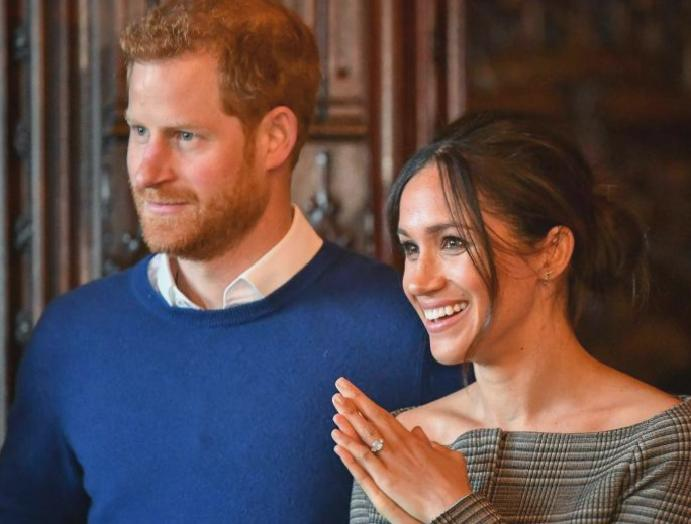 Meghan Markle Prince Harry trademark 'Sussex Royal'