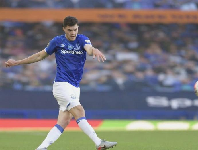 Michael Keane: Everton 'disappointed' failing snatch Merseyside derby Liverpool