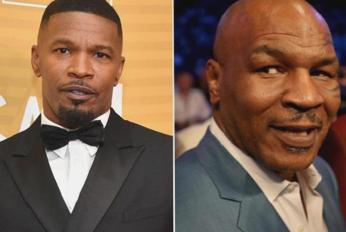 Mike Tyson says Jamie Foxx 'the truth' biopic: 'It's going pretty'