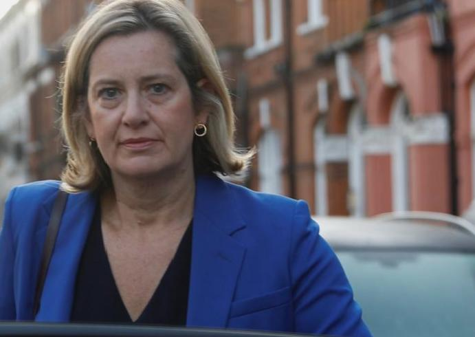 Minister calls students Amber Rudd 'no-platformed' Oxford