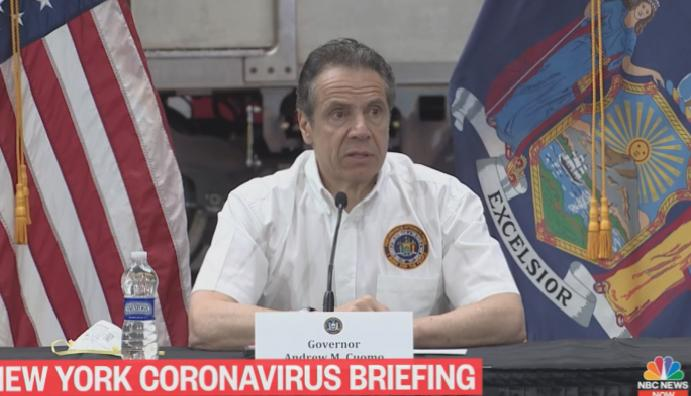 New Yorkers cannot evicted paying June, says Cuomo