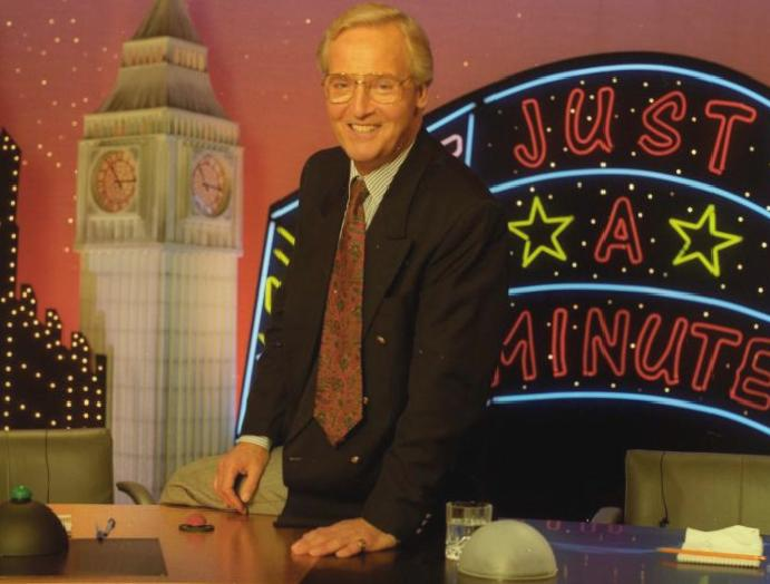 Nicholas Parsons: Comedian broadcaster helmed Just Minute