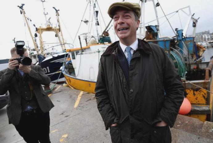 Nigel Farage condemned English Channel migrant 'invasion'