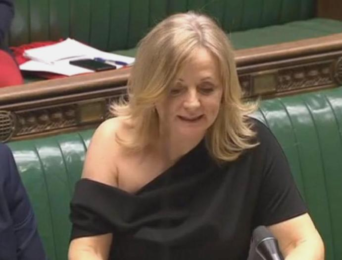 Off-the-shoulder 'selling fast' Labour MP Tracy Brabin called 'slapper' wearing parliament