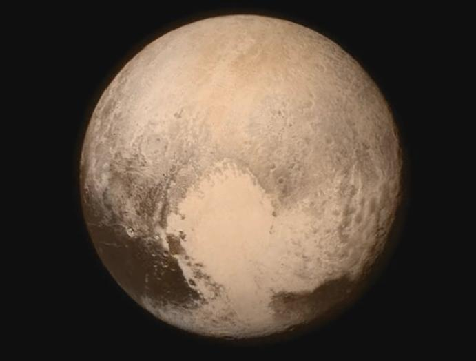 Pluto has 'beating heart' nitrogen is doing things surface, scientists