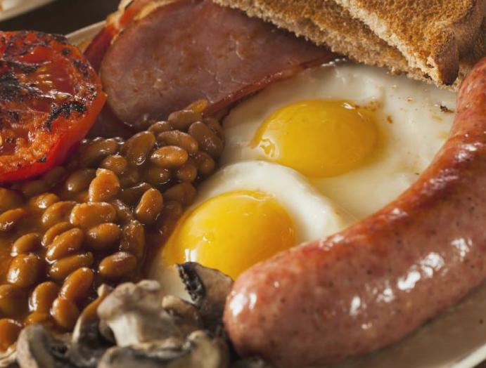Police banned stealing fry-ups