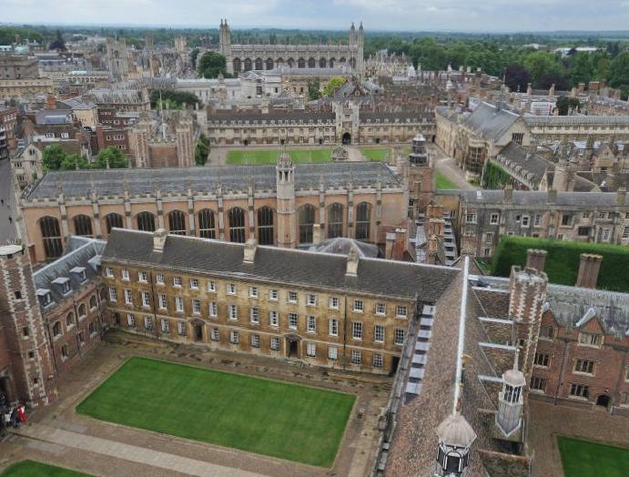 Poorer students University Cambridge