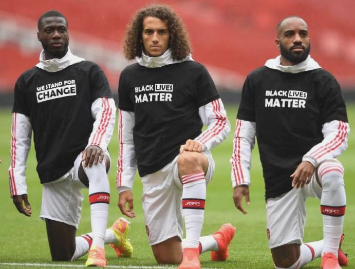 Premier League players pledge Black Lives Matter