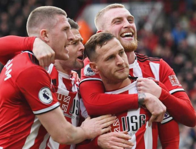 Premier League round-up: Billy Sharp boosts Sheffield United's hopes Brighton