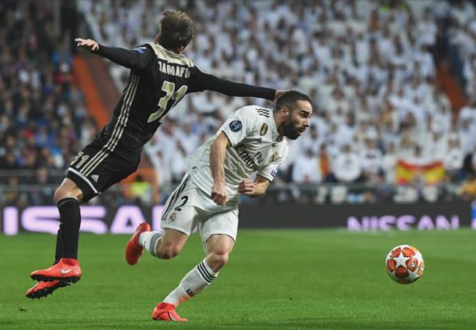 Real Madrid's Dani Carvajal Champions League Ajax: 'I felt awful'