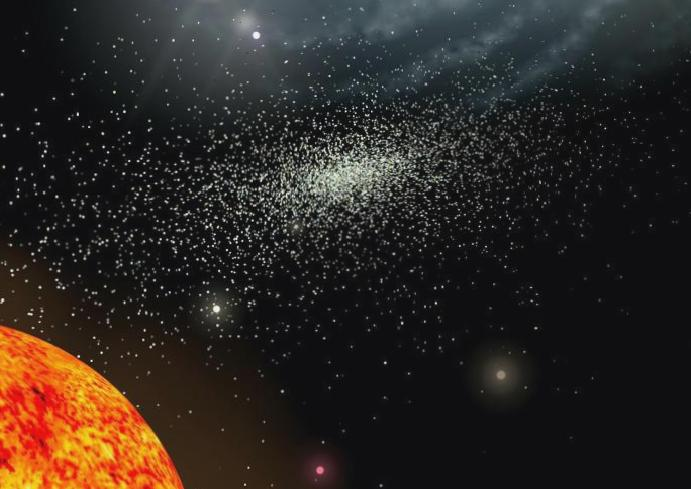 Remains stars ripped years astronomers