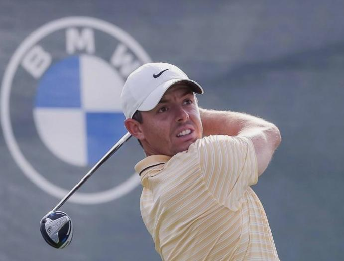Rory McIlroy BMW Championship Erica goes labour