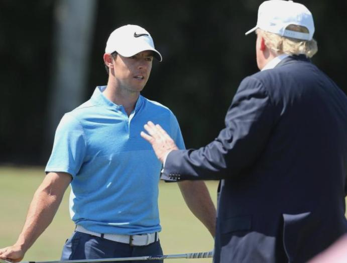 Rory McIlroy says he's been 'guilty association' golfing Trump – says wouldn't
