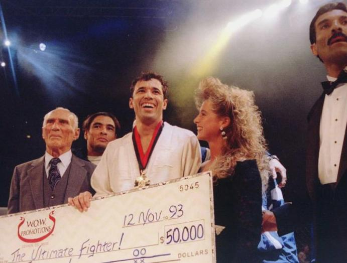 Royce Gracie interview: 'The rules were biting gouging' – First UFC MMA was