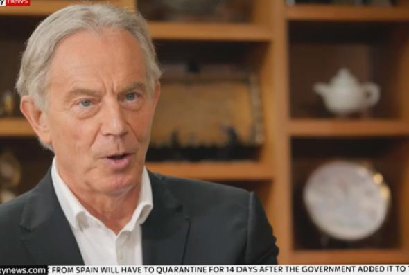 Russia report: Tony Blair calls Moscow's interference Brexit