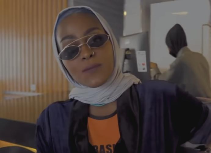 Saudi Arabian rapper faces 'powerful women'