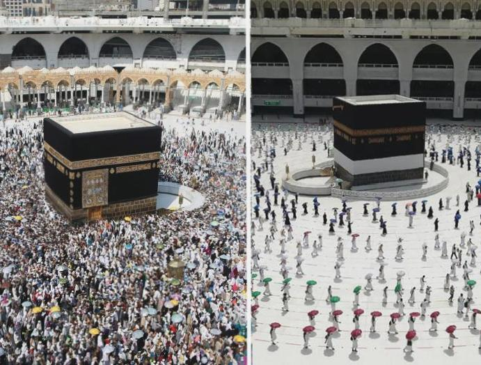 Scaled hajj begins 1,000 pilgrims – 2.5
