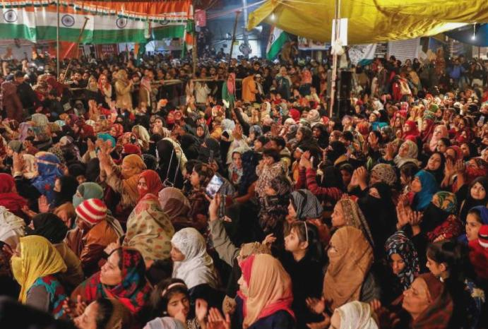 Shaheen Bagh protest: Baby dies takes 50-day Delhi sit-in