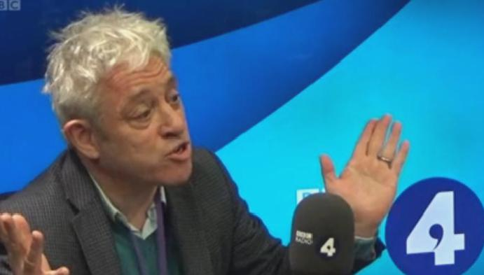 Speaker: John Bercow claims 'conspiracy' House Lords