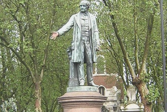 Statues benefactors sparked protests 100 years – isn't