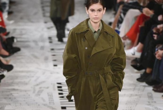 Stella McCartney featured 'upcycled' Paris Fashion Week